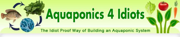 Aquaponics 4 Idiots - The Idiot Proof Way of Building an Aquaponic System